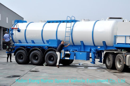 Vacuum Sewage Suction Tanker Waste Collection Suction Sewage Tanker 6000 Gallon