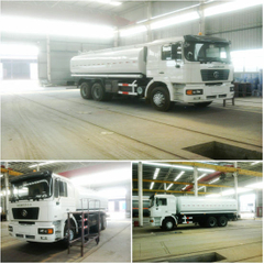 Euro 3, Euro 4 Shacman off Raod 6X6 F2000 All Wheel Drive Fuel Tanker for Sale