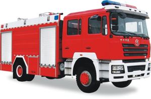 F3000 Shacman Fire Truck Duble Cabin Water Tank 8000L