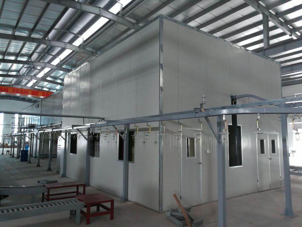 LPG Cylinder Electrostatic Powder Coating Line