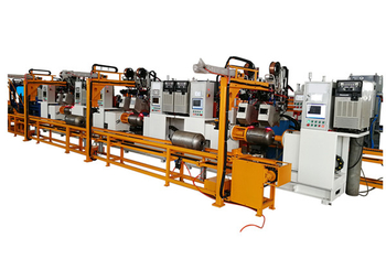 Fully automatic LPG cylinder welding machine