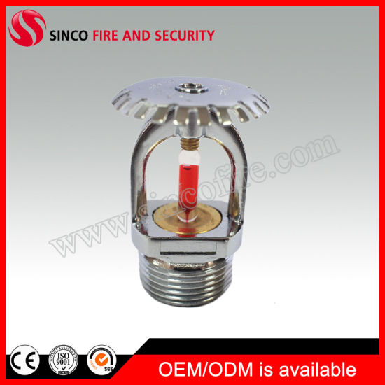 68 Celsius Degree 3/4 Inch Upright Type Fire Sprinkler