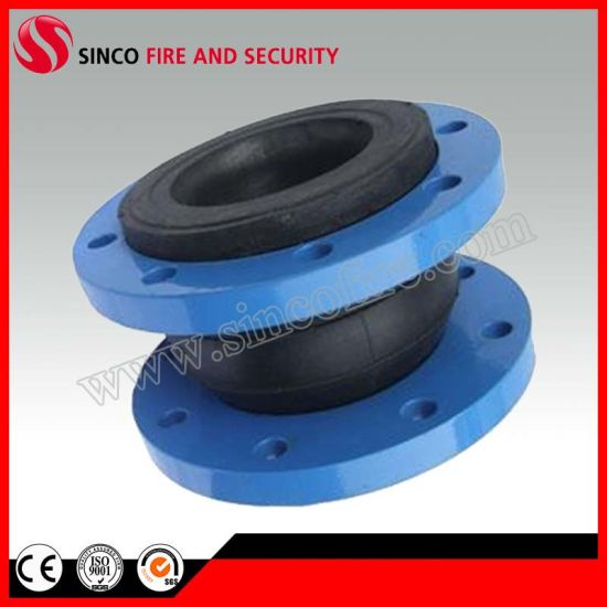 High Temperature Flexible Single Sphere Rubber Expansion Joints with Flange