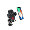 10W Mobile Phone Infrared Induction USB Qi Fast Wireless Charger Car Mount