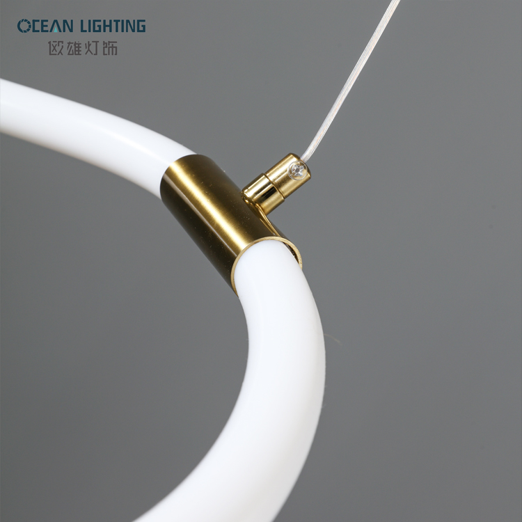 High Quality Decorative Ceiling Waves Modern Led Pendant Light