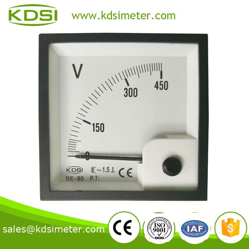 电流表 > 指针式交流电压表