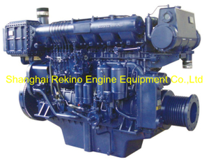 520HP 1200RPM Weichai medium speed marine diesel engine (X6170ZC520-2)