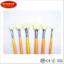 professional quality wood handle painting brush