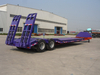 SINOTRUK Hydraulic Extendable Lowbed Truck Semi Trailer