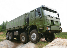 HOWO 8X8 All-wheel Drive Cargo Truck