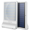 Waterproof Solar Powered LED Solar Garden Lamp Flat Panel Ultra Thin Motion Sensor 36 LED Wall Mounted Lamp