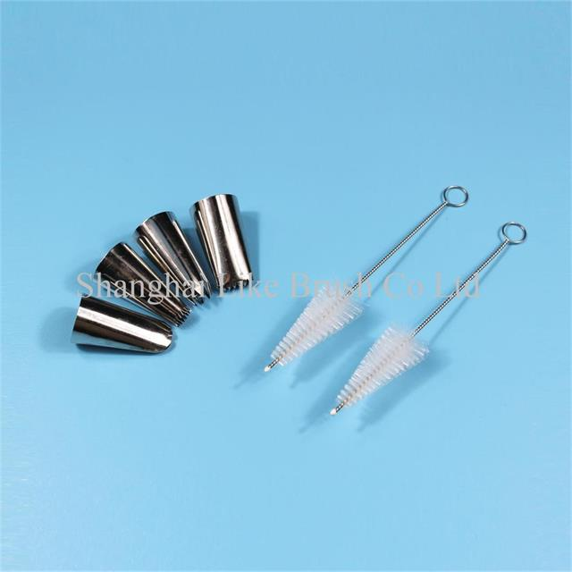 Conical Head Nozzle Cleaning Brushes