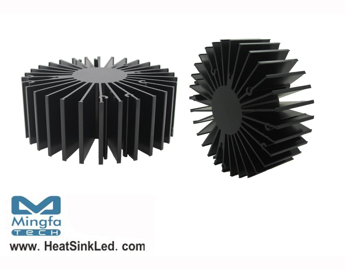 SimpoLED-TRI-13550 for Tridonic Modular Passive LED Cooler Φ135mm