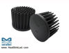 GooLED-EDI-11080 Pin Fin Heat Sink Φ110mm for Edison