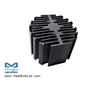 eLED-PRO-7080 Prolight Modular Passive Star LED Heat Sink Φ70mm