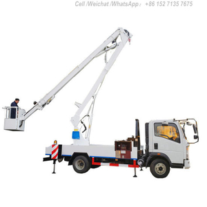 Aerial Work Platform HOWO Truck Mounted (14m-18m Bucket Man Lift)