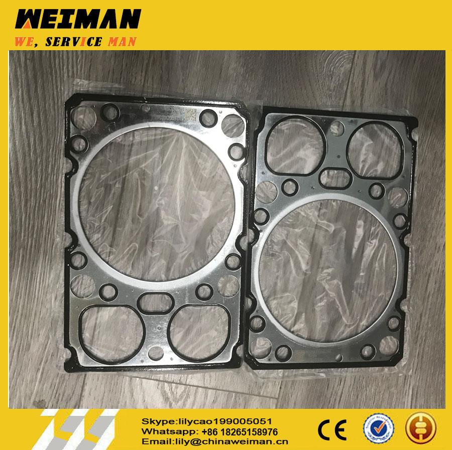 sdlg loader parts 4110000556155 original weichai engine parts cylinder head gasket 612600040355