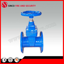 DIN3352 F4 Non-Rising Stem Resilient Seat Gate Valve