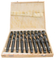 TAPER SHANK DRILL SET, MK3, MILLED MATERIAL