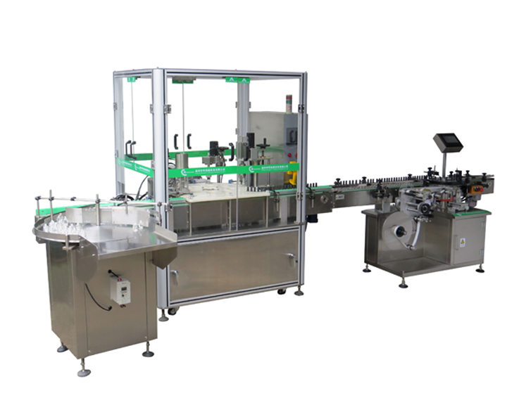 ZHNP-50A 指甲油灌装上刷旋盖机 Enamel Filling & Plugging And Capping Machine.jpg