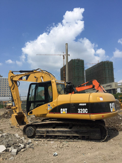 CAT 320C used excavator for sale