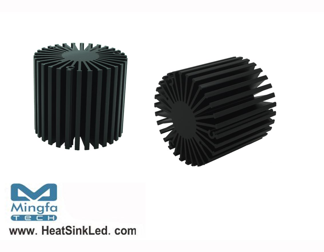 SimpoLED-BRI-5850 for Bridgelux Modular Passive LED Cooler Φ58mm