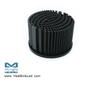 xLED-PRO-8050 Pin Fin LED Heat Sink Φ80mm for Prolight