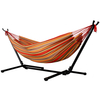 2019 New Pattern Garden Cotton Polyester Fabric Hammock With Iron Stand
