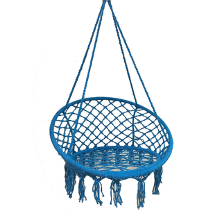 Cotton Rope Garden Chair Swing