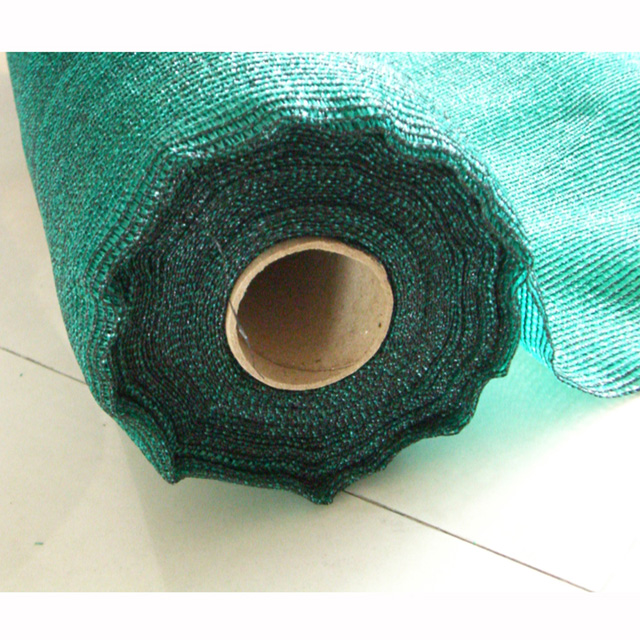 HDPE Dark Green color 190gsm Shade net