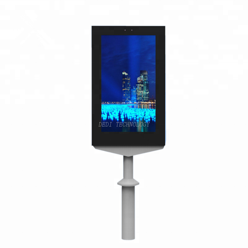 Outdoor 65-inch touch square LCD display