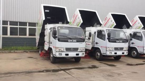 Japan Brand New I. S. U. Z. U Road Sweeper Truck with 1.5m3 Water Tank and 4m3 Garbage Tank