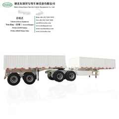 Customized 4 -6 Axles Double Dolly Full Trailer with 5th Wheels (Interlink Trailer Combination 2 Trailers)