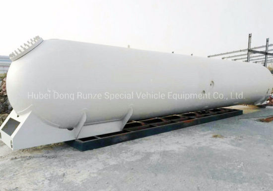 LPG Tank Pressure Vessel Body for 50 Cbm LPG Tanker Trailer Mounted