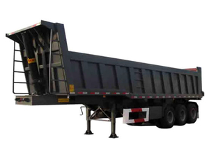 Tipper Trailer 24cbm Bucket Dumper (40Ton Truck Trailer)