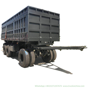 Full Cargo Trailer 3axles Dolly Lorry