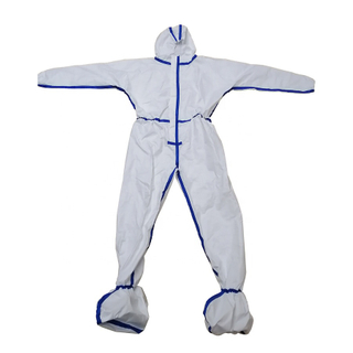 Wholesale Non Woven CPE Disposable Isolation Gown Disposable Factory Protect Suit