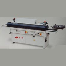 Small auto edge banding machine for wood door slotting
