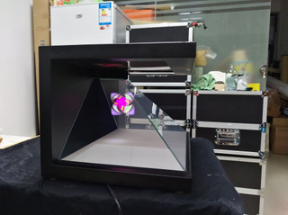 Wholesale 270° Stunning 3D Holographic Pyramid Display Showcase