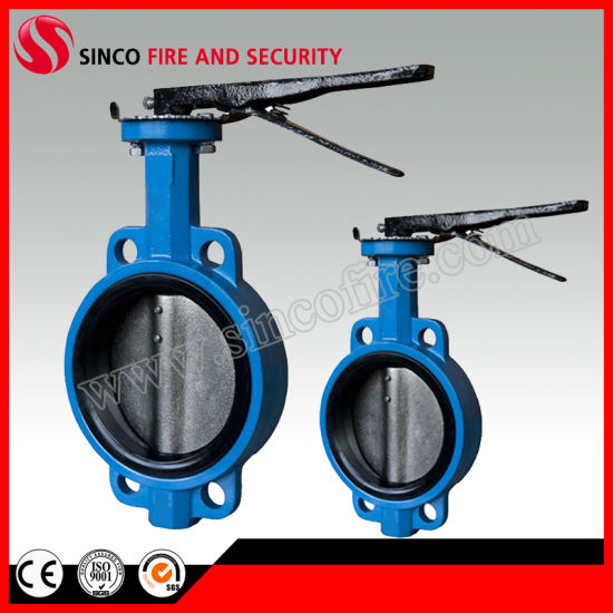 Handle Signal Butterfly Valve for Water Control