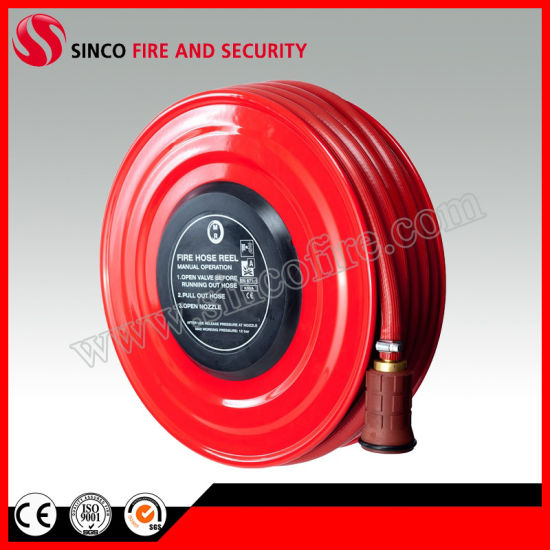 Fixed Fire Hose Reel for Fire Fighting Hose Reel Cabinet