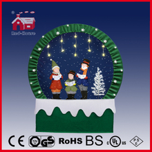 (40110F190-3C-GG) Snowing Christmas Decorations with Frame-supported and Textile-decorated