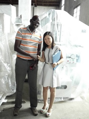 Senegal customer visited our company01.jpg