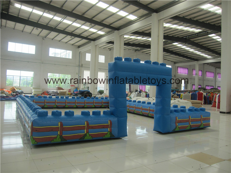 RB20024-1(7x9m)Inflatable Fence/ Portable Fence For Playground/Fence For Indoor&Outdoor Places