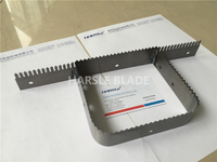 Straight perforation cutting toothed blade, punch cut saw blade, packing machine knife