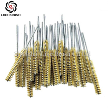 Brass Wire Tube Brushes for Drills