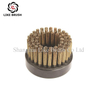 Disc Brushes Steel Wire Filament 70MM Diameter