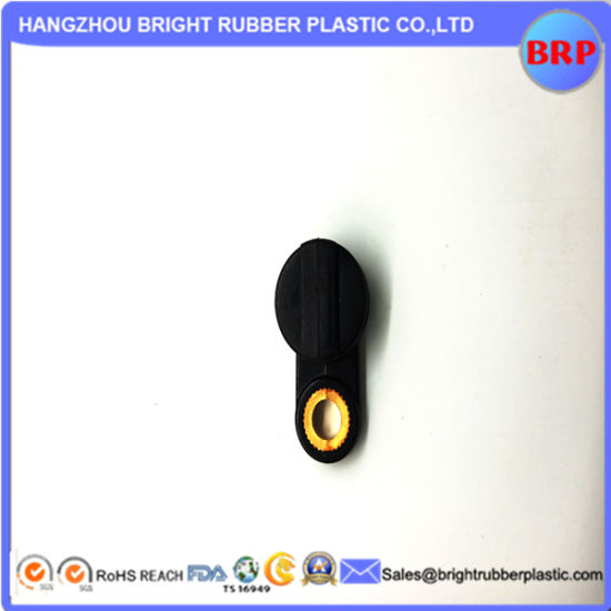 PA66 Brass Insert Injection Plastic Part