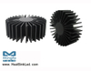 SimpoLED-LUME-13550 Lumens Modular Passive Star LED Heat Sink Φ135mm
