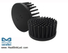 GooLED-VOS-11050 Pin Fin Heat Sink Φ110mm for Vossloh-Schwabe